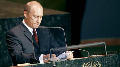 Як Путін фарисействував на Генасамблеї ООН