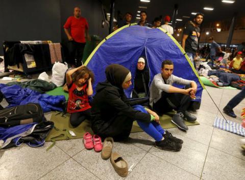 У Фінляндії підпалили притулок для біженців