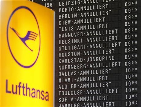 100 000 людей застрягли в аеропортах по всьому світу через страйк у Lufthansa