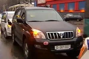 Працівник посольства Росії влаштував ДТП в центрі Києва