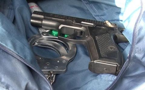 У столиці міліція затримала авто зі зброєю та спецзасобами (ФОТО, ВІДЕО)