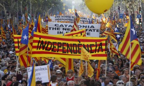 Процес відокремлення Каталонії від Іспанії призупинено