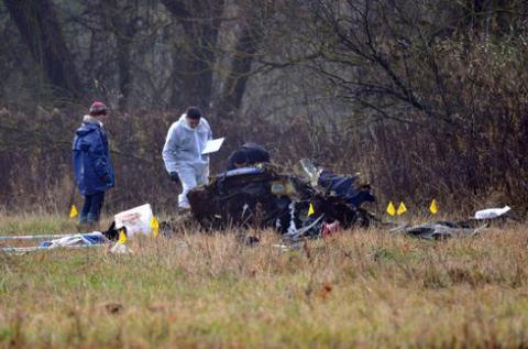 В катастрофі українського вертольота на сході Словацької Республіки загинуло 8 осіб