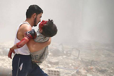 За два місяці повітряних атак російської авіації в Сирії загинули понад сто дітей (ВІДЕО)