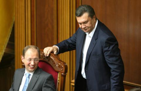 Яценюк хоче закласти в бюджет кошти, заарештовані на рахунках чиновників Януковича