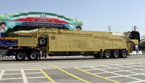 Іран провів випробування нової балістичної ракети середньої дальності