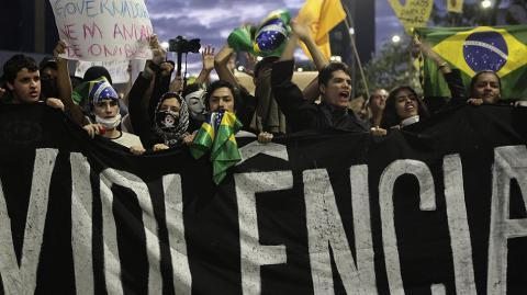 Бразильці вимагають імпічменту президента