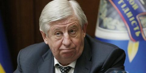 Президент отримав заяву генпрокурора про відставку