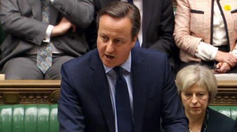 Девід Кемерон виступив у британському парламенті із більш ніж двогодинною промовою