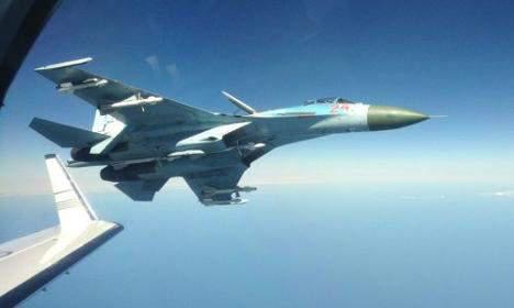 На кордоні з Україною зафіксували 4 російські розвідувальні літаки