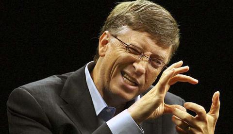 Білл Гейтс  - найбагатший з людей у світі