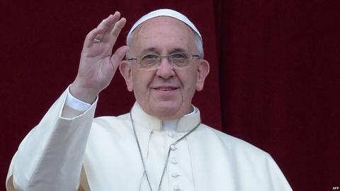 """Папа Франциск: """"Жертвами війни в Україні стали тисячі людей"""""""