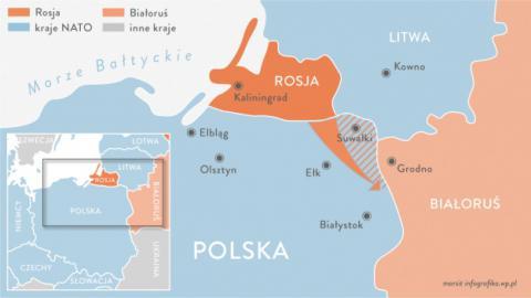 """Сувальський перешийок є """"ключовим пунктом"""" у безпеці Польщі"""