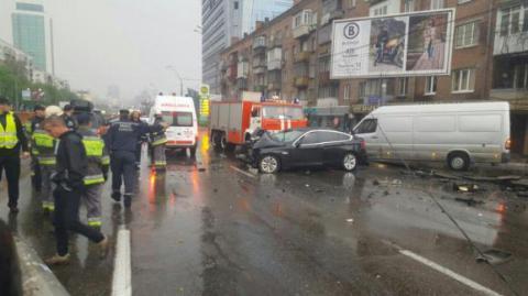 У Києві  заблоковано проспект Перемоги