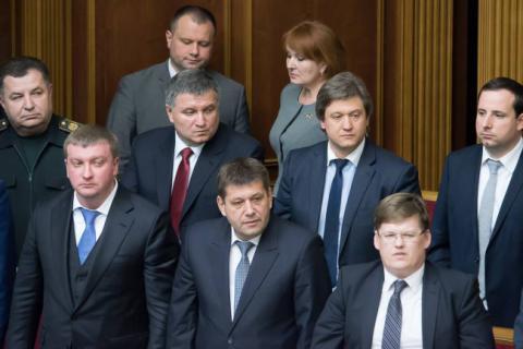 Перше засідання нового уряду відбудеться в середу