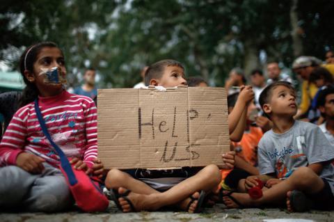 Притулку в ЄС попросили 88 тис. дітей без родичів