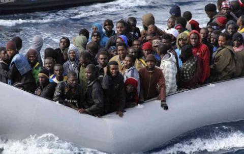 133 мігранта загинули в Середземному морі за вихідні