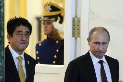 В Сочі зустрінуться прем'єр Японії та президент Росії