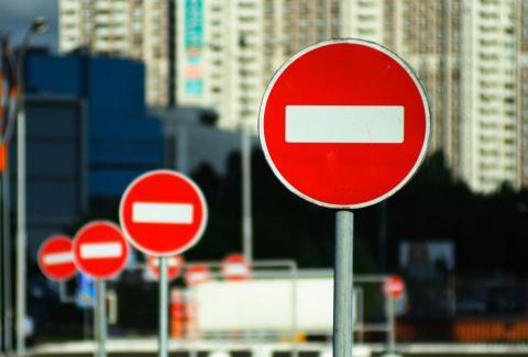 Обмеження руху в Києві триватимуть до кінця травня