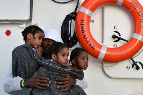 Біля берегів Лівії у Середземному морі було врятовано понад 5600 мігрантів