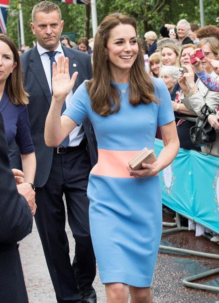 Уцінена сукня герцогині Кембриджської на ювілей королеви вразила публіку