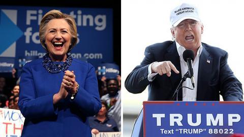 Трамп вважає, що Клінтон має сидіти у в'язниці
