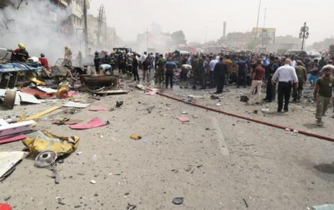 22 людини загинули і 70 поранені у Багдаді