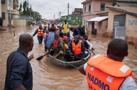 Потоп дістався Африки: затопило столицю Гани