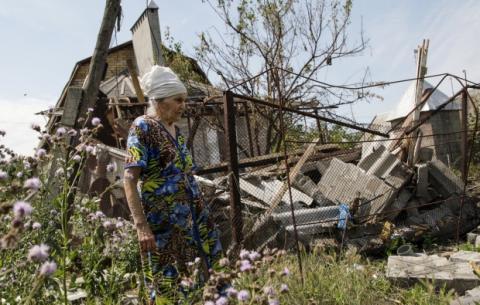 На Донбасі зруйновано не меньше 9 тис. будинків