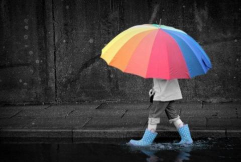 Завтра в Україні дощі, грози і град
