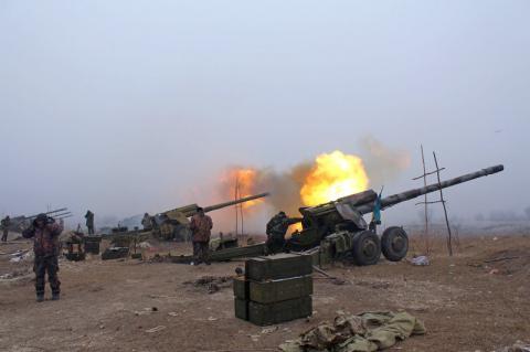 Кількість обстрілів на Донбасі зростає