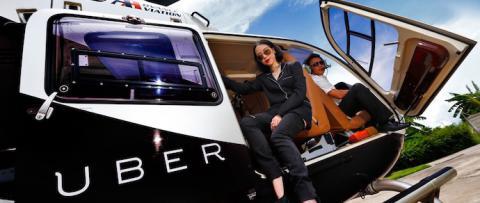 Uber запускає таксі-вертольоти