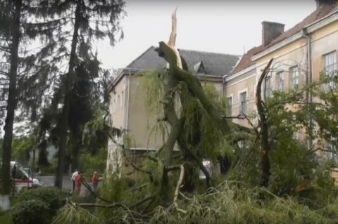 Буревій зірвав дахи у понад 200 будинків на Львівщині