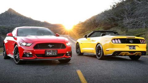 Ford Mustang обладнають десятидіапазонною коробкою передач