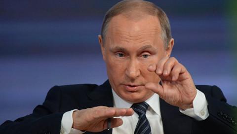 Путін вважає, що НАТО підсилює свої агресивні дії