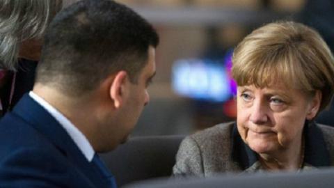 Гройсман відвідає Німеччину на запрошення Меркель