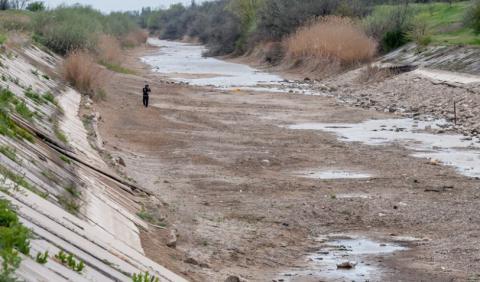 Через аномальну спеку в Криму зникає вода