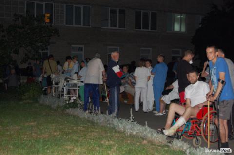 На Волині довелося евакуювати лікарню через невдалий жарт