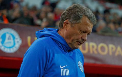 Мирон Маркевич подав у відставку з посади головного тренера Дніпра