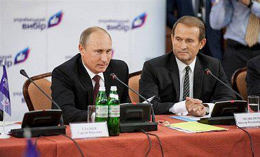 Медведчук запевняє, що Путін хоче миру