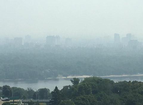 Повітря в Києві досі перевищує норми забрудненості