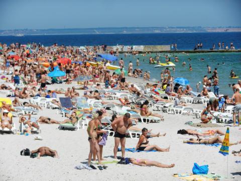 Всі одеські пляжі відкриті для купання