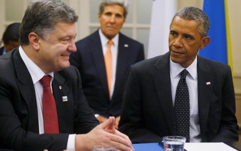 Порошенко планує зустріч з Обамою та Керрі