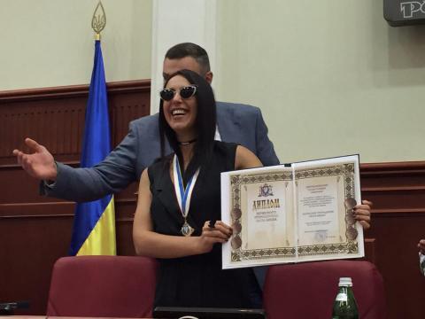 Джамала отримала звання «Почесний громадянин міста Києва»