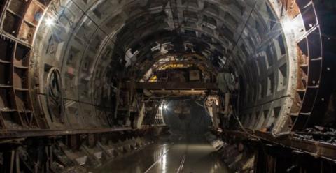 В Дніпрі на будівництві метро заробили шахраї