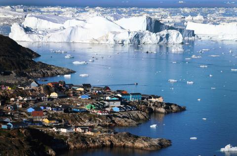Лід в Гренландії тане надзвичайно швидко