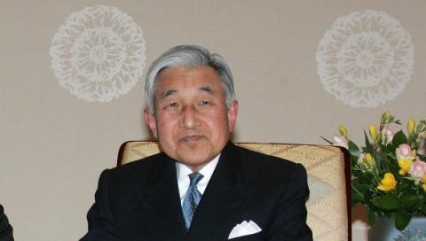 Імператор Японії Акіхіто оголосив, що має намір зректися від трону