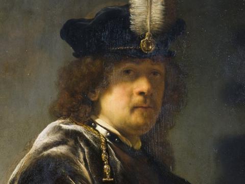 Рембрандт використовував оптичні трюки при написанні автопортретів