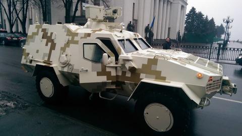 Партію БТР «Дозор-Б» передано Збройним силам України