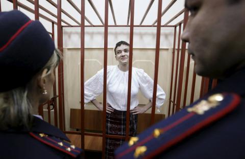 Надія Савченко вважає, що вона має стати президентом України